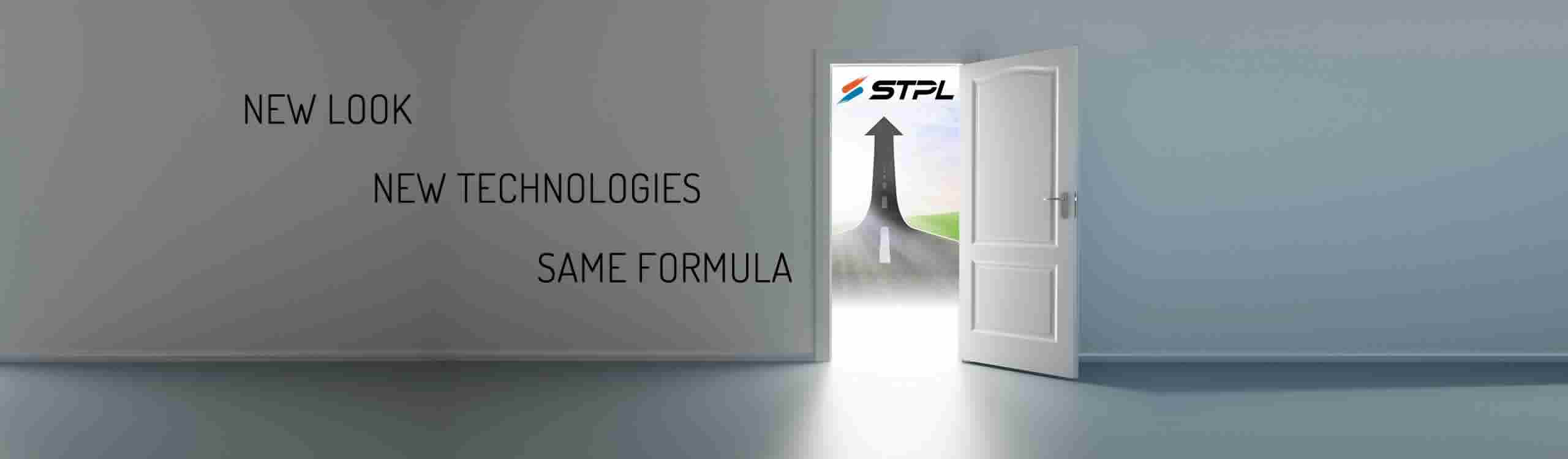 STPL Logo, sawing machine